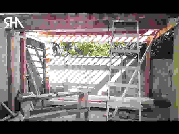 Construcción de Quincho de homify Moderno
