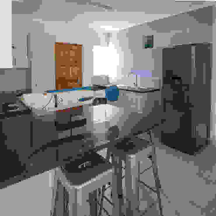 Kitchen Modern kitchen by Spegash Interiors Modern