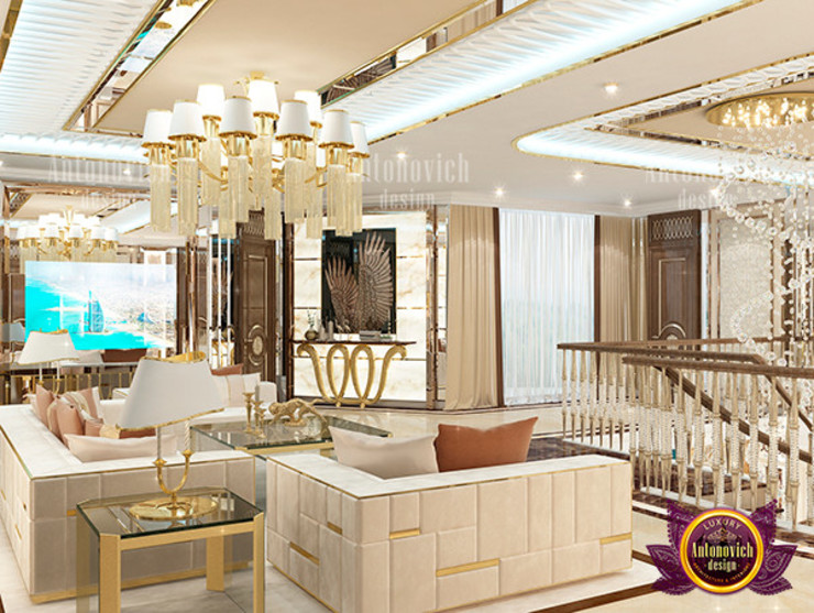 Eye-catching Interior Design by Luxury Antonovich Design