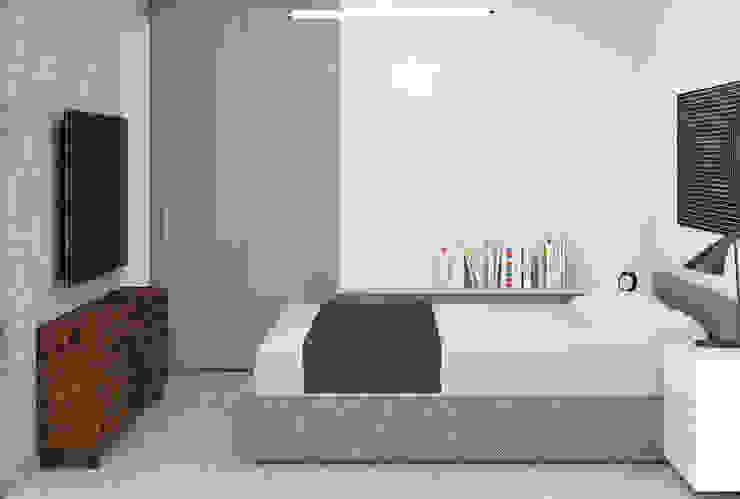 NEF POINTS 98 Ezgi Yüce Mimarlık AŞ. Modern Yatak Odası