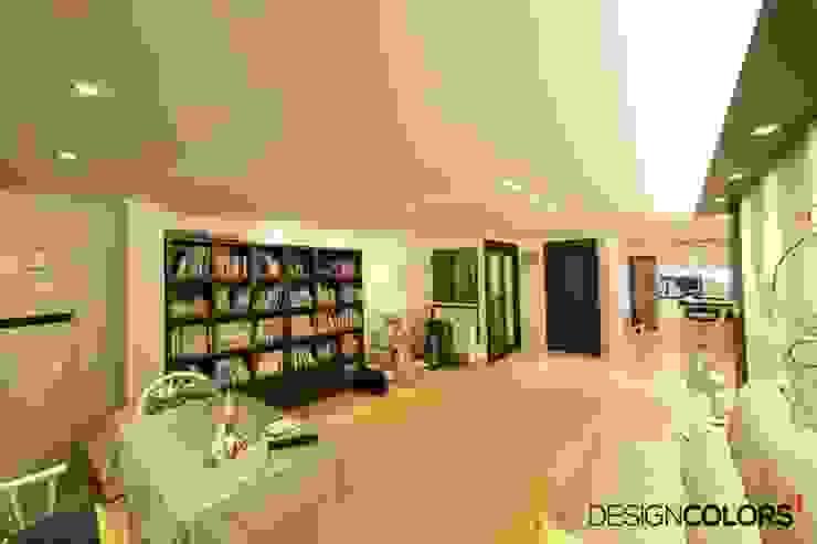 양천구 목동 수산팰리스 아파트인테리어 32평 모던스타일 거실 by DESIGNCOLORS 모던