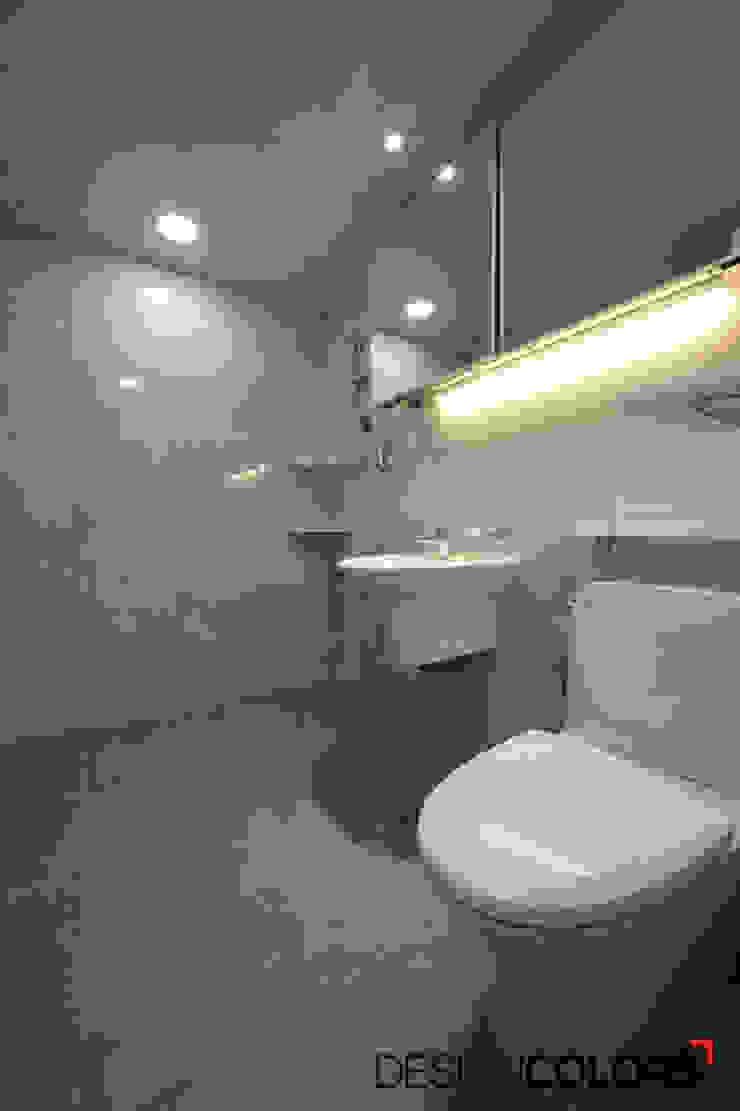 동작구 신대방동 우성아파트인테리어 32평 모던스타일 욕실 by DESIGNCOLORS 모던