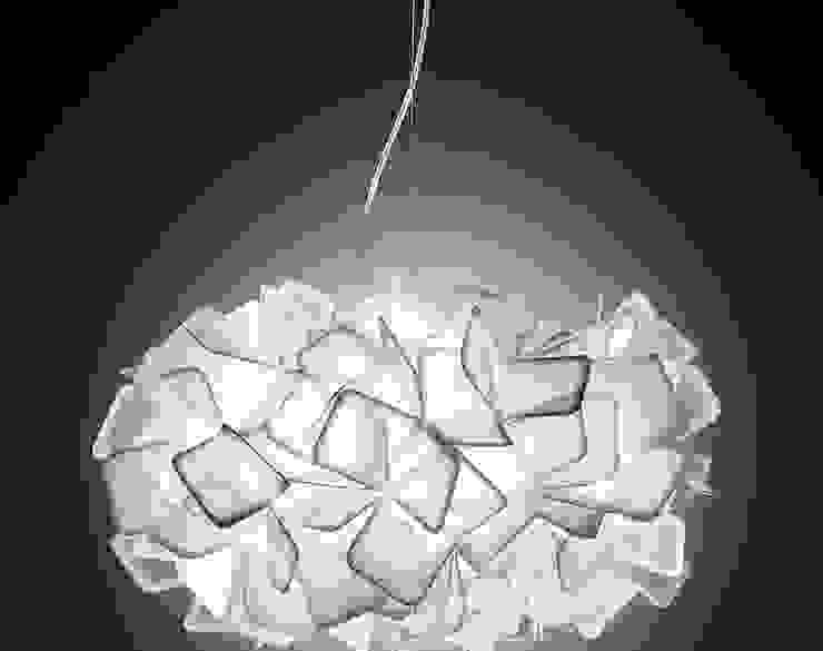 SLAMP燈具:意大利客廳照明燈飾,高檔品質魅力: 現代  by 北京恒邦信大国际贸易有限公司, 現代風