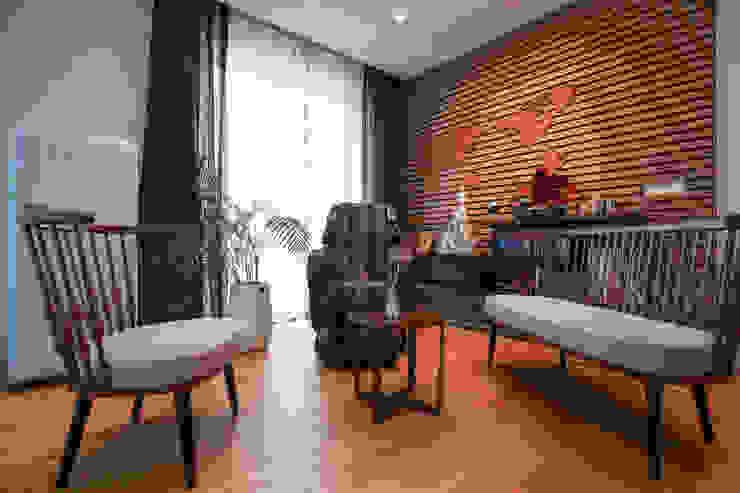 다빈710 Modern living room Brown