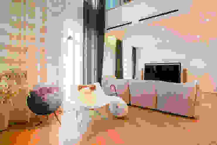 다빈710 Minimalist living room White