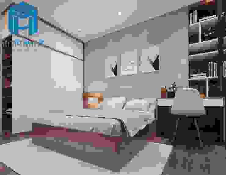 Nội thất phòng ngủ 2 Phòng ngủ phong cách hiện đại bởi Công ty TNHH Nội Thất Mạnh Hệ Hiện đại
