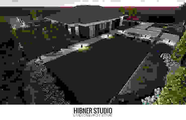 Jardines de estilo moderno de Hibner Studio Moderno