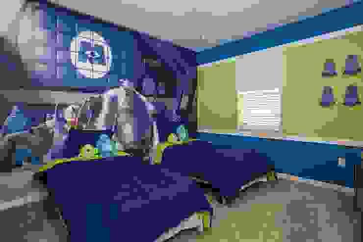 Flávia Gueiros Habitaciones para niños Azul