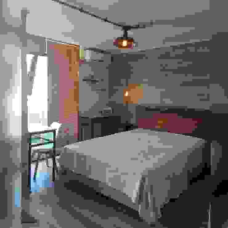 인더스트리얼 침실 by Indesoul 인더스트리얼