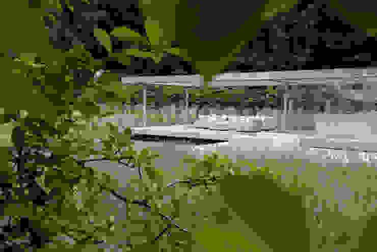 Trunk cathedral Minimalist style garden by Andredw van Egmond | designing garden and landscape Minimalist