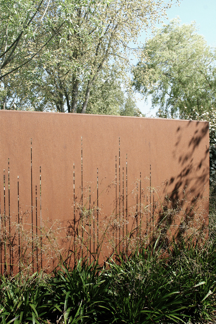 Andredw van Egmond | designing garden and landscape Minimalist Bahçe
