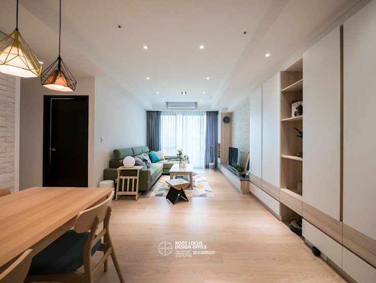 台中 劉公館 日光寓二 根據 築本國際設計有限公司 北歐風
