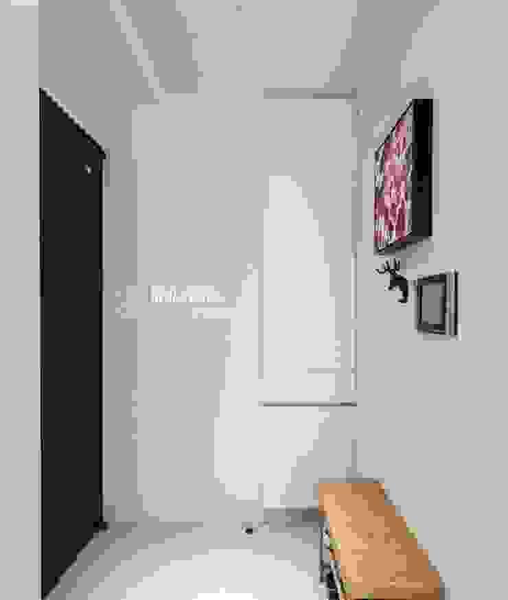 台中 劉公館 日光寓二 斯堪的納維亞風格的走廊,走廊和樓梯 根據 築本國際設計有限公司 北歐風