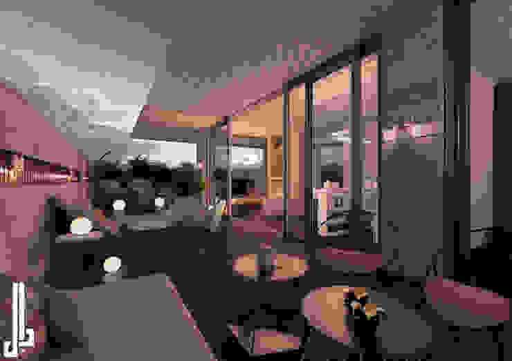 Ms. Safa'a Elayyan Villa dal design office Roof terrace