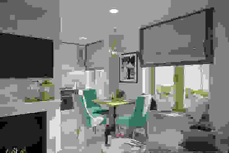Однокомнатная квартира в которой есть всё: Гостиная в . Автор – дизайн-бюро ARTTUNDRA, Классический
