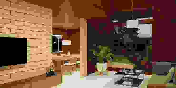 Casa de Madeira Pre Fabricada Belo Horizonte MG por Castor Casa de Madeira Pre fabricada em Belo Horizonte MG Rústico
