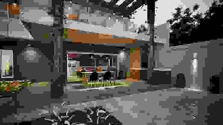 Espaço Área Gourmet: Cozinhas  por Gelker Ribeiro Arquitetura   Arquiteto Rio de Janeiro