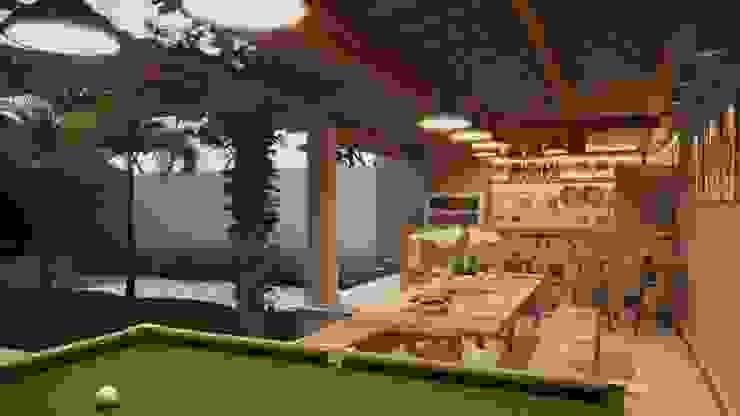 par Gelker Ribeiro Arquitetura | Arquiteto Rio de Janeiro Rustique Bois Effet bois