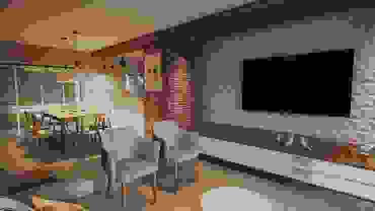 Gelker Ribeiro Arquitetura | Arquiteto Rio de Janeiro Modern Living Room Wood