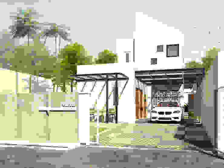 Rumah Tinggal Mr. Jangkar, Surabaya Oleh Artisia Studio