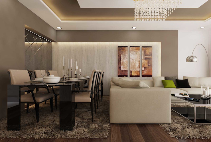 Şensoy Apt Modern Oturma Odası ANTE MİMARLIK Modern