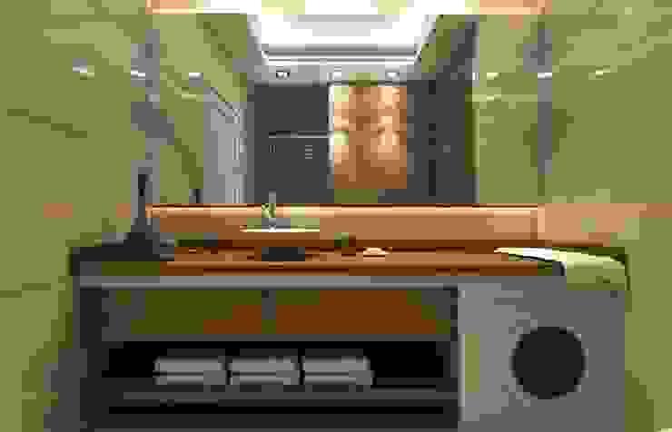Şensoy Apt Modern Banyo ANTE MİMARLIK Modern