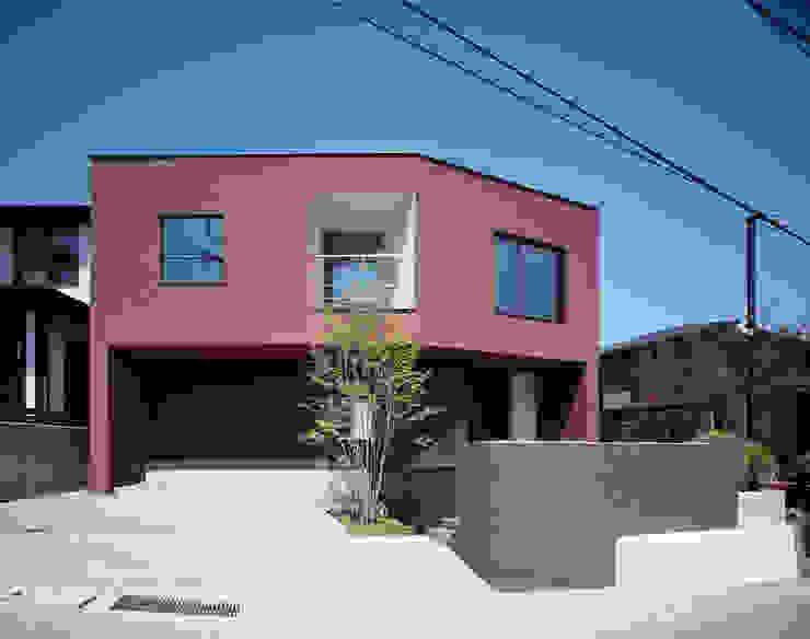 ファサード の 松岡淳建築設計事務所 和風