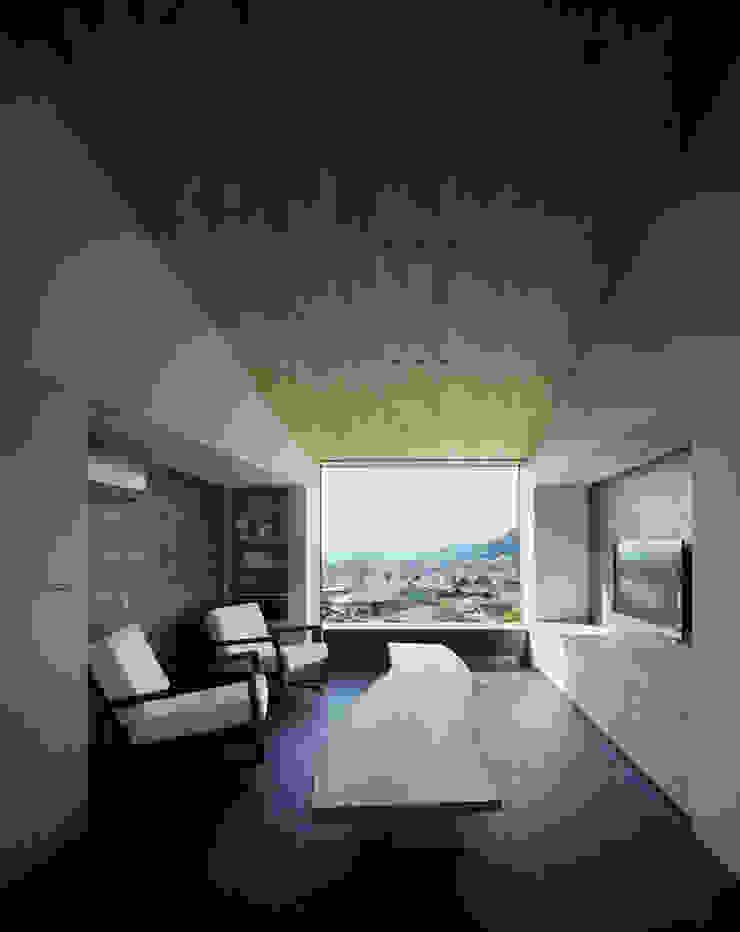 リビング 和風デザインの リビング の 松岡淳建築設計事務所 和風