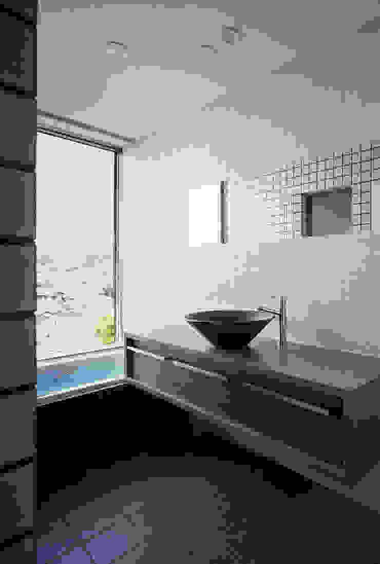 浴室 和風の お風呂 の 松岡淳建築設計事務所 和風