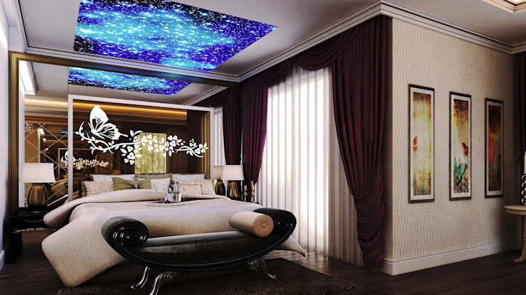 Classic style bedroom by ANTE MİMARLIK Classic
