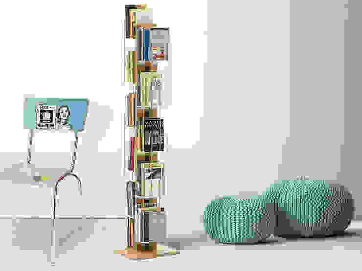 Libreria verticale a colonna Zia Veronica Le zie di Milano Camera da lettoArmadi & Cassettiere Legno massello