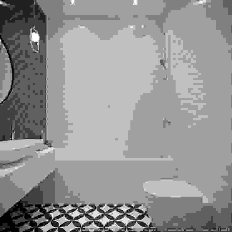 Scandinavian style bathroom by дизайн-бюро ARTTUNDRA Scandinavian