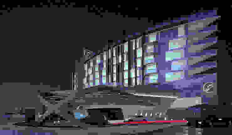 S Hotel Anexos de estilo moderno de NOGARQ C.A. Moderno