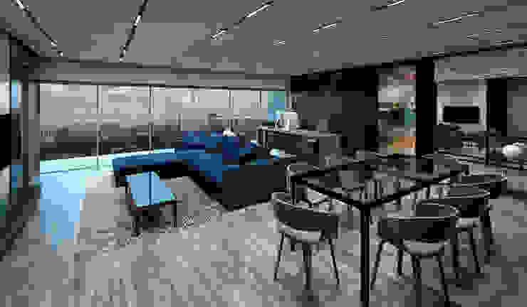 Apartamento Cimapark Anexos de estilo moderno de NOGARQ C.A. Moderno