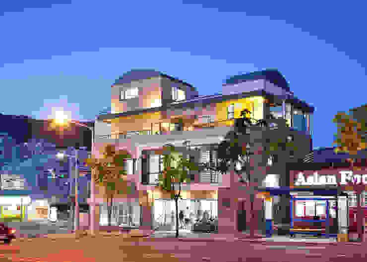 야경 외관 by 건축사사무소 에이플랜