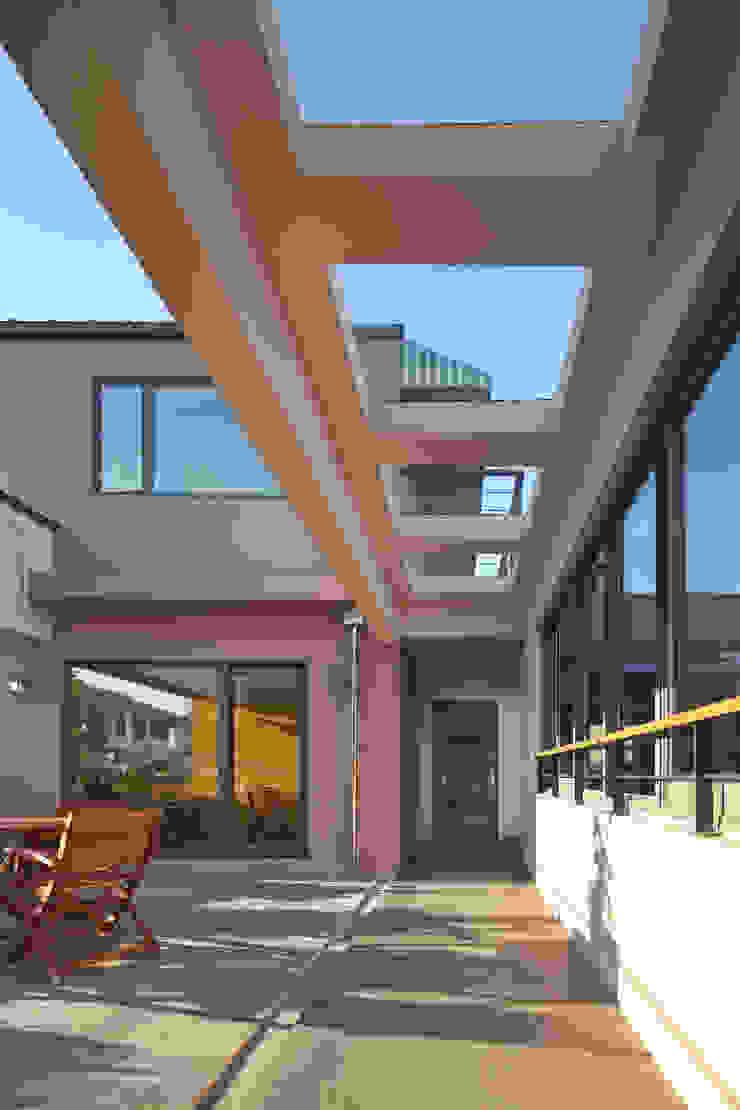 진입마당 by 건축사사무소 에이플랜