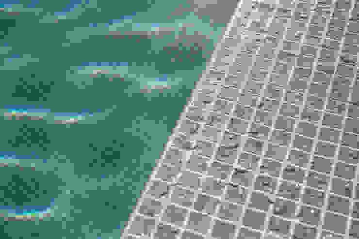 Piscina revestida con RENOLIT ALKORPLAN CERAMICS color Etna RENOLIT ALKORPLAN Piscinas