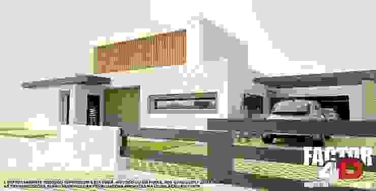 Modern houses by Factor4D - Arquitetura, Engenharia & Construção Modern