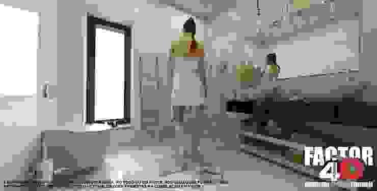 Modern style bathrooms by Factor4D - Arquitetura, Engenharia & Construção Modern