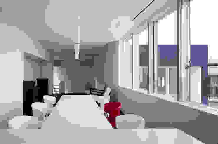 Modern Yemek Odası 松岡淳建築設計事務所 Modern