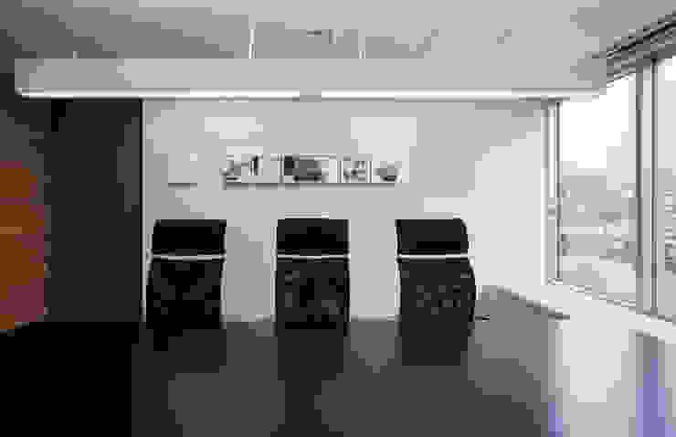 松岡淳建築設計事務所 Ruang Studi/Kantor Gaya Eklektik