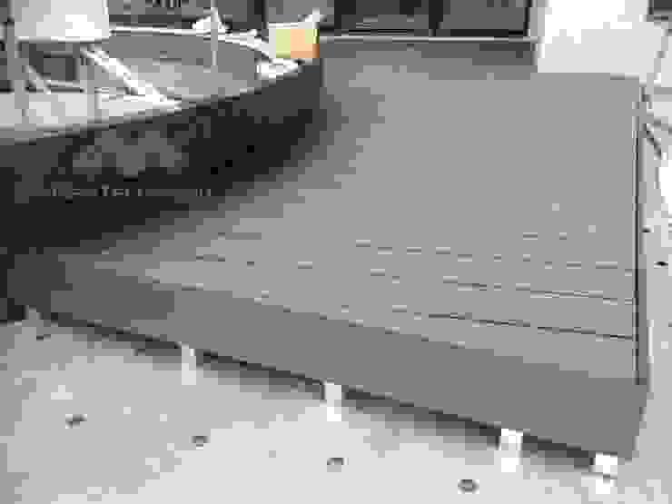 モダンデザインの テラス の 新綠境實業有限公司 モダン 木材・プラスチック複合ボード