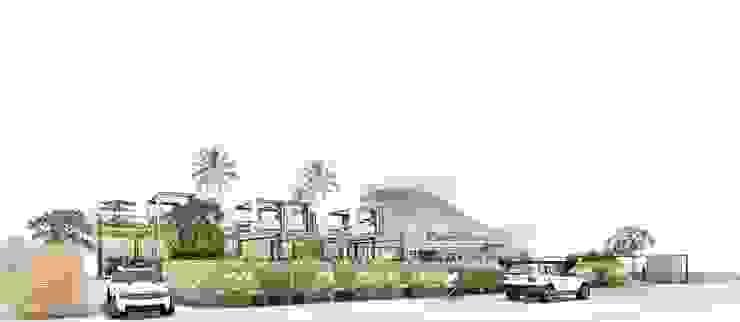 Front View 2 Bar & Klub Gaya Industrial Oleh A108 Designstudio Industrial Aluminium/Seng