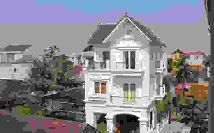 Những mẫu thiết kế biệt thự 3 tầng tân cổ điển đẹp nhất bởi Kiến Trúc Xây Dựng Incocons