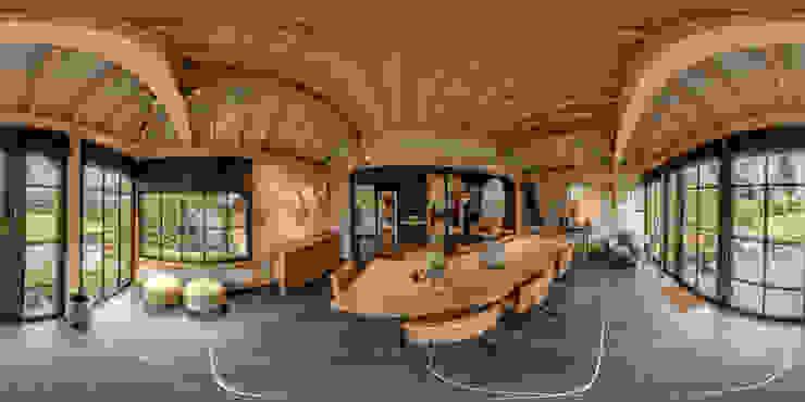360°x360° Virtuele Rondleidingen met Interieur - en Exterieur foto's. Landelijke kantoor- & winkelruimten van 360D - Virtuele Rondleiding Landelijk Hout Hout