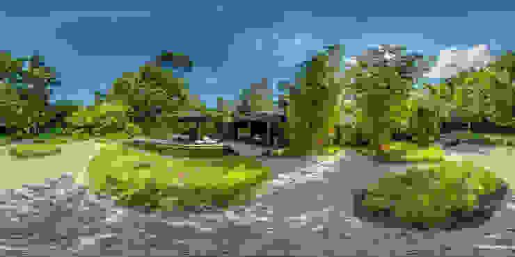 360°x360° Virtuele Rondleidingen met Interieur - en Exterieur foto's. Tropische kantoor- & winkelruimten van 360D - Virtuele Rondleiding Tropisch Hout Hout