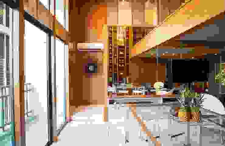 Family area Bobos Design Ruang Keluarga Modern