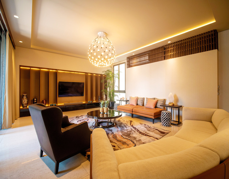 Ruang Keluarga Ruang Keluarga Modern Oleh Bobos Design Modern