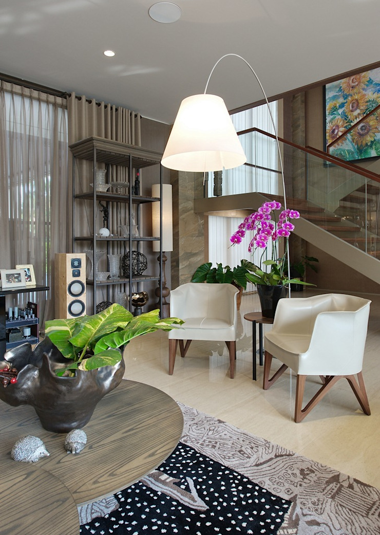 Residence - Rancamaya Ruang Keluarga Minimalis Oleh Bobos Design Minimalis