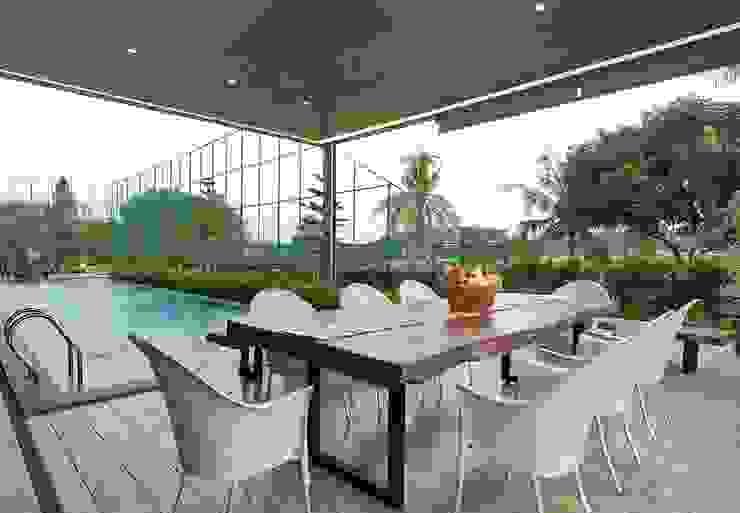 Ruang Makan Ruang Makan Minimalis Oleh Bobos Design Minimalis